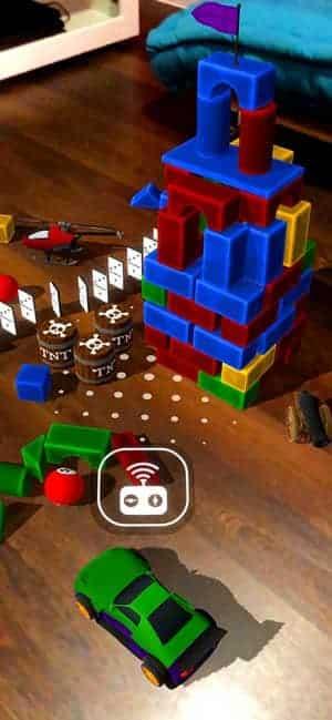 Meilleurs jeux de réalité augmentée pour iPhone et iPad à jouer à l'intérieur - iOS iPadOS