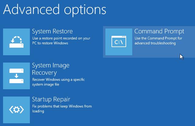 كيفية إصلاح رمز التوقف Unmountable Boot Volume في Windows 10 - الويندوز