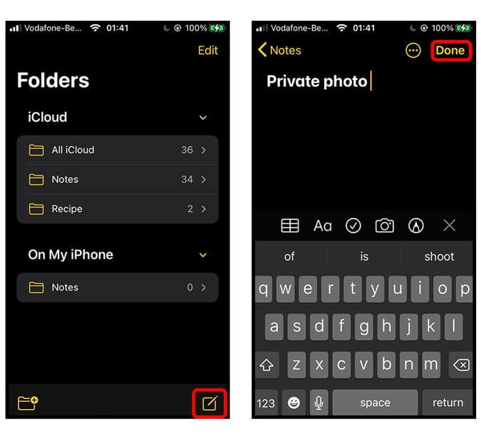 Comment protéger par mot de passe vos photos sur iPhone - iOS