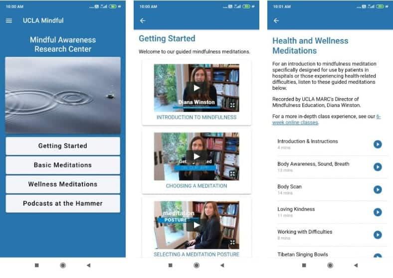 أفضل تطبيقات وأدوات التأمل السهلة للمبتدئين لتعلم الوعي التام