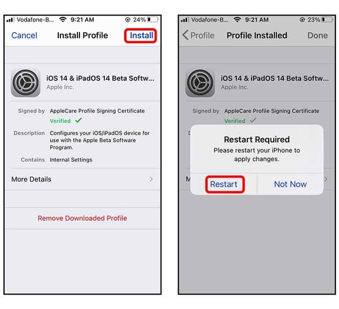 كيفية الحصول على الإصدار التجريبي العام من iOS 14 على iPhone الخاص بك؟