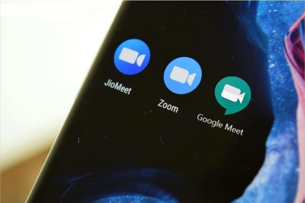 مقارنة بين كل من JioMeet و Zoom و Google Meet: أيها أفضل تطبيق لمؤتمرات الفيديو