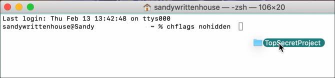كيفية عرض الملفات المخفية على جهاز Mac