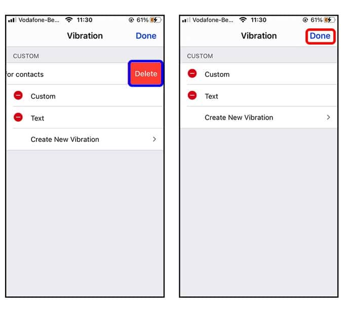 كيفية إنشاء نمط اهتزاز مخصص على iPhone؟