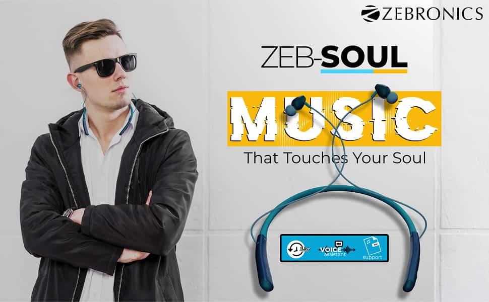 مراجعة السماعات اللاسلكية Zebronics Zeb-Soul التي توضع حول الرقبة - هل تستحق الشراء؟