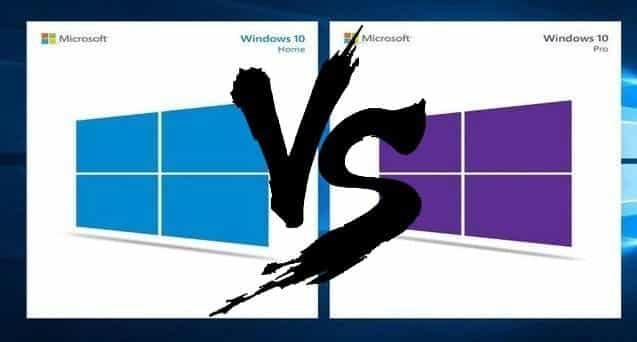 مقارنة بين Windows 10 Home و Windows 10 Pro: هل تحتاج إلى الترقية؟