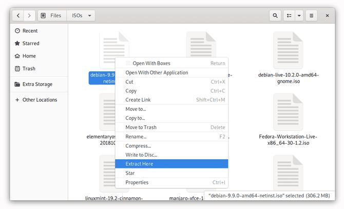 Comment extraire le contenu des fichiers ISO sous Linux