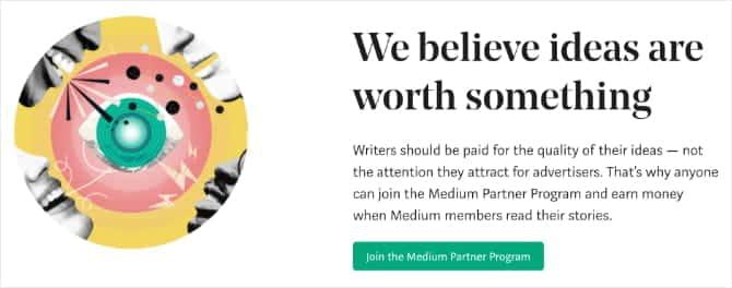 Medium banner offering to pay for written content mB4d3Pfs DzTechs - كيفية كتابة مراجعات الأفلام على الانترنت وكسب المال من القيام بذلك