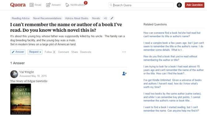 كيفية العثور على كتاب دون معرفة العنوان أو المؤلف