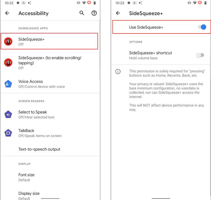 Comment activer Push pour activer Google Assistant sur Pixel 4A - Android