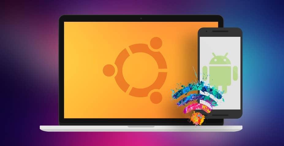 Une application qui vous permet de partager le WiFi d'Ubuntu avec Android