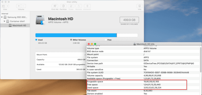 أفضل التطبيقات المجانية للتحقق من مساحة التخزين على القرص على جهاز Mac
