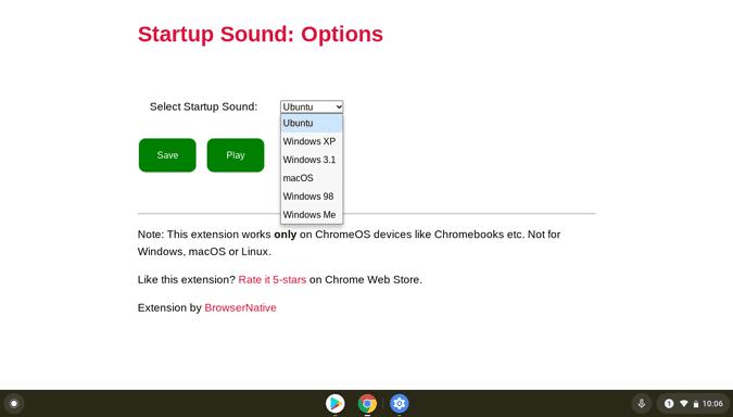 كيفية تمكين نغمة بدء التشغيل على Chromebook