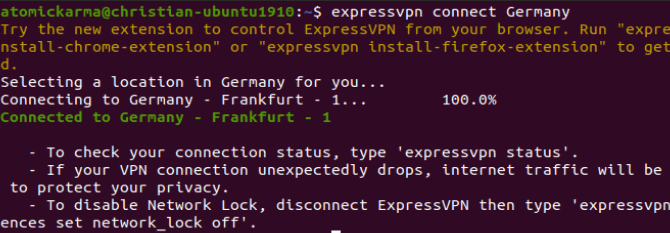 كيفية تثبيت عميل VPN على توزيعة Ubuntu