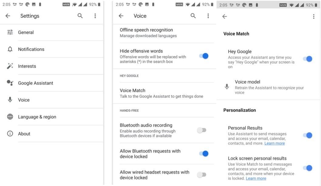 إصلاحات سهلة عندما لا يعمل مساعد Google - Android