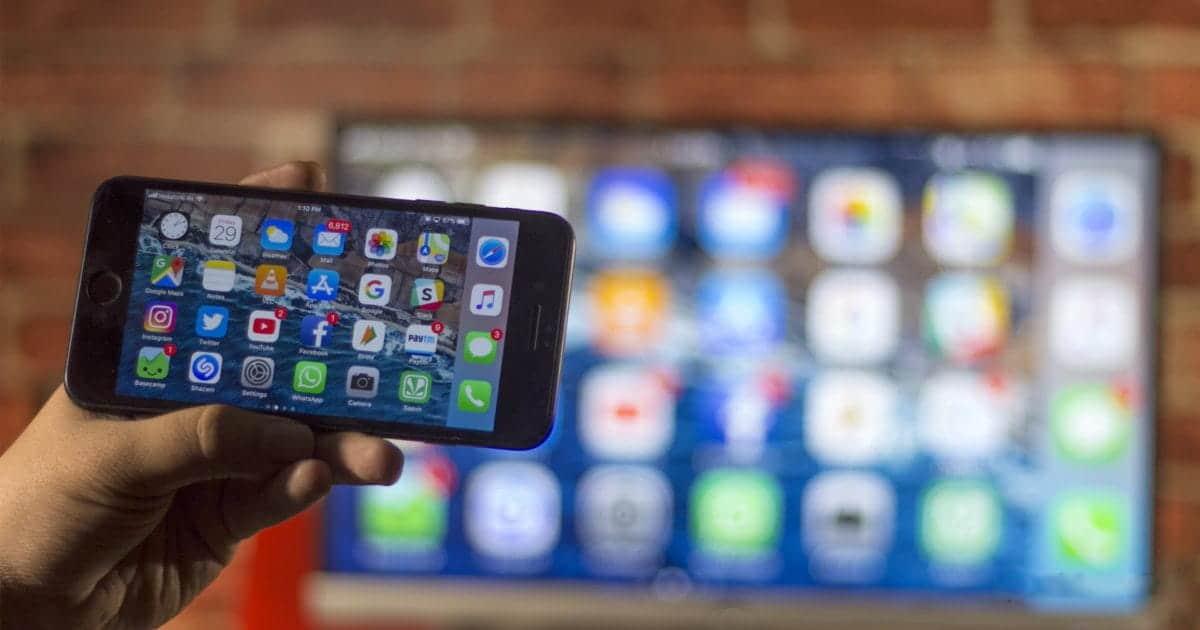 كيفية إرسال الملفات بين Android TV و iPhone