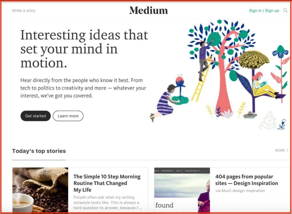 ما هي أفضل منصات التدوين: الدليل النهائي (4 خيارات)