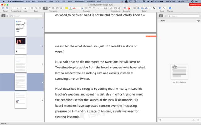 أفضل تطبيقات فتح وقراءة ملفات PDF لنظام التشغيل Mac | تقنيات ديزاد