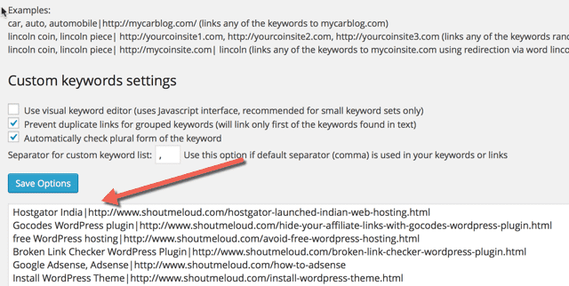 Meilleurs plugins de liens internes WordPress pour améliorer le classement des URL pour le référencement