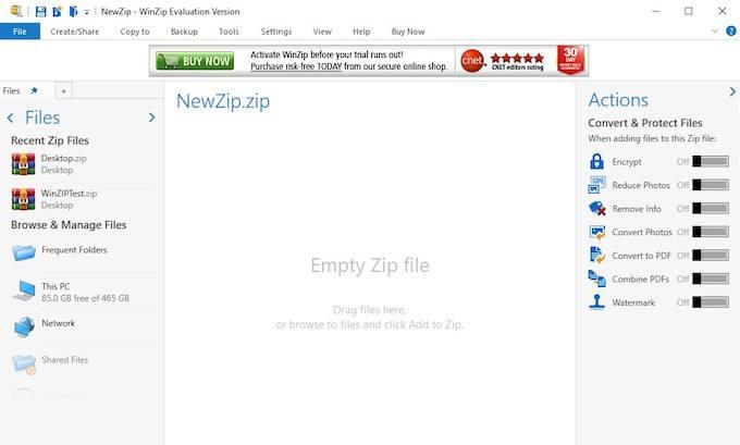ما هو تطبيق WinRAR؟ كيف يختلف عن تطبيق WinZip
