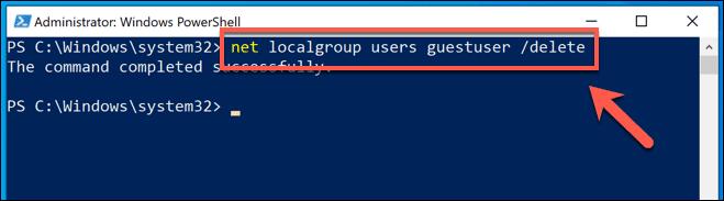 كيفية إنشاء حساب الضيف على Windows 10