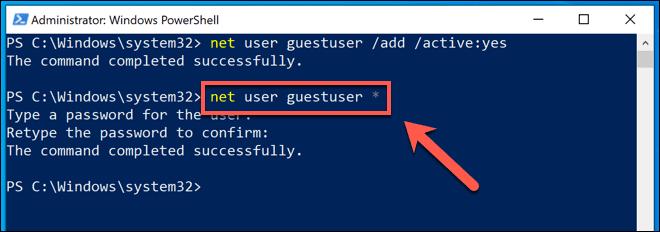 كيفية إنشاء حساب الضيف على Windows 10 - الويندوز
