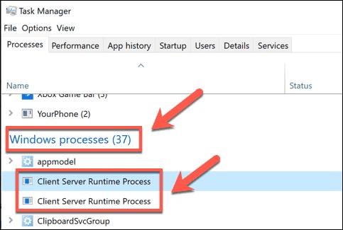 ما هي عملية Csrss.Exe في Windows وهل هي آمنة؟