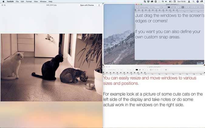 مجموعة من الطرق لمحاذاة النوافذ على macOS بسهولة
