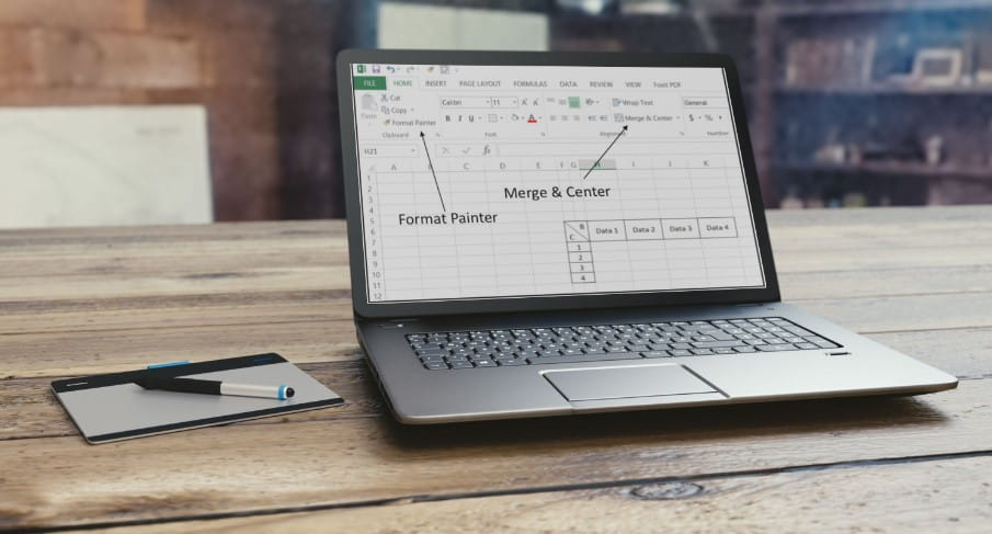 3 طرق لتقسيم الخلية في Microsoft Excel