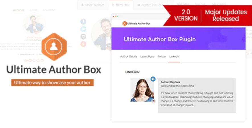 أفضل إضافات مربع الكاتب لـ WordPress لإضافة السيرة الذاتية للمُؤلّف - احتراف الووردبريس