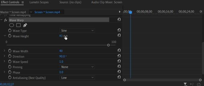 كيفية إضافة الإطارات المفتاحية (Keyframes) في Adobe Premiere Pro