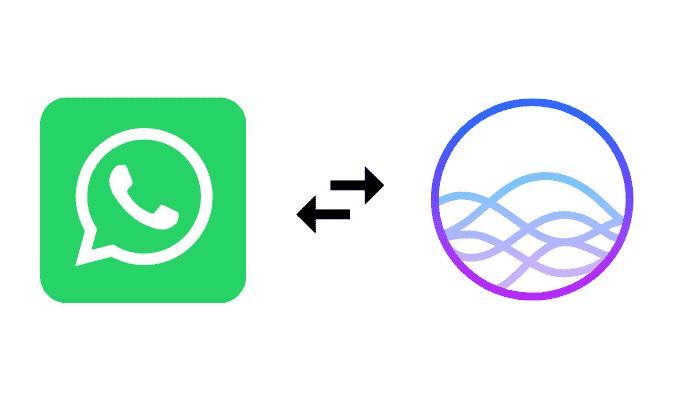 كيفية إجراء مكالمة WhatsApp باستخدام Siri