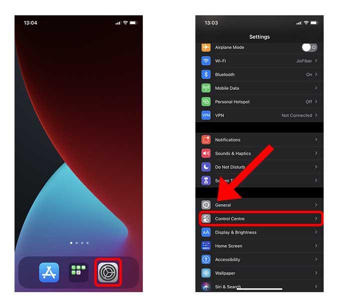 Comment supprimer les accessoires pour la maison du centre de contrôle sur iOS14?