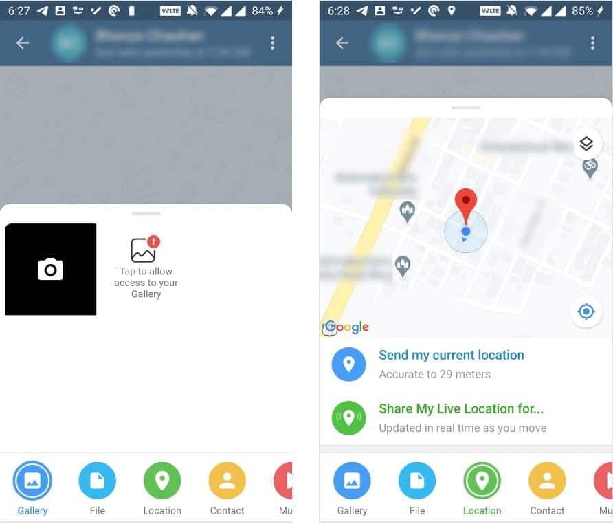 أفضل الطرق البسيطة لمشاركة مكان تواجدك باستخدام تطبيقاتAndroid