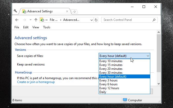 دليل النسخ الاحتياطي الكامل لبيانات Windows10