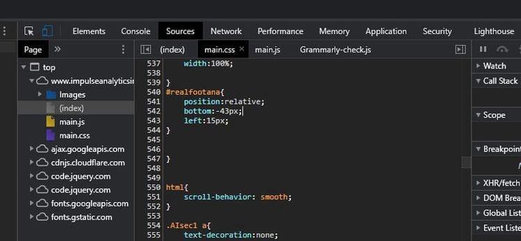 Comment utiliser Chrome DevTools pour résoudre les problèmes de site Web