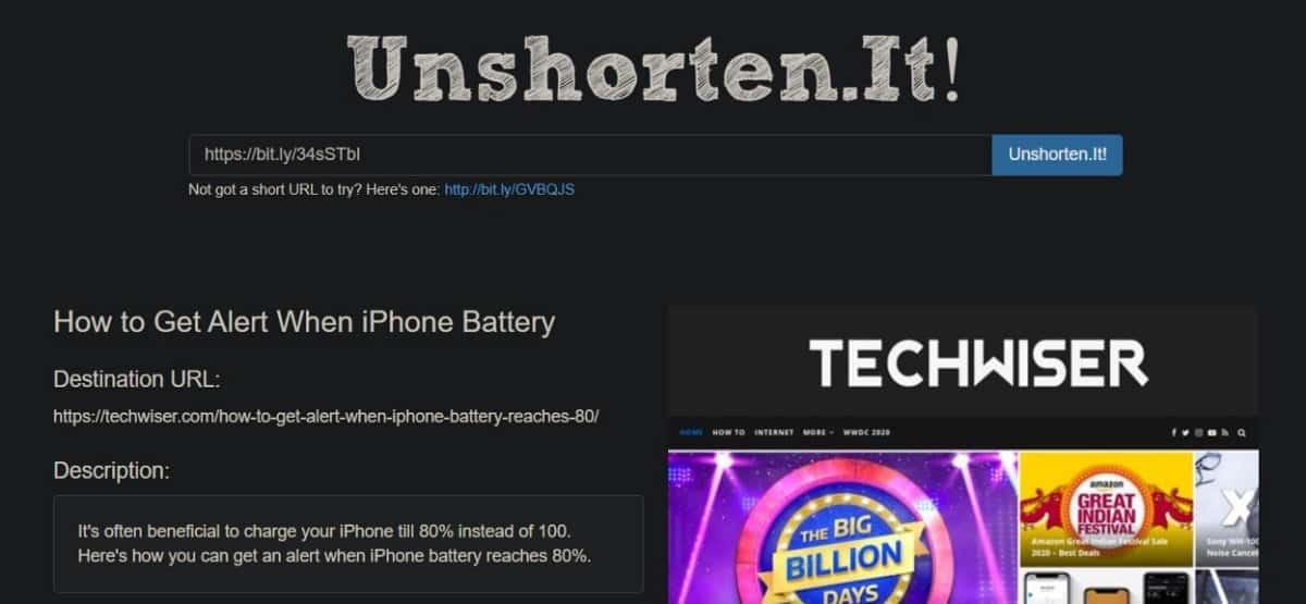 كيفية إلغاء اختصار الروابط على الهواتف الذكيةوالمتصفح - شروحات
