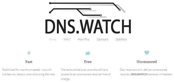 أفضل خوادم DNS لتحسين الأمان عبرالإنترنت