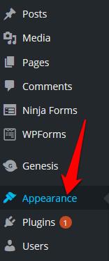 كيفية تعديل التذييل في WordPress