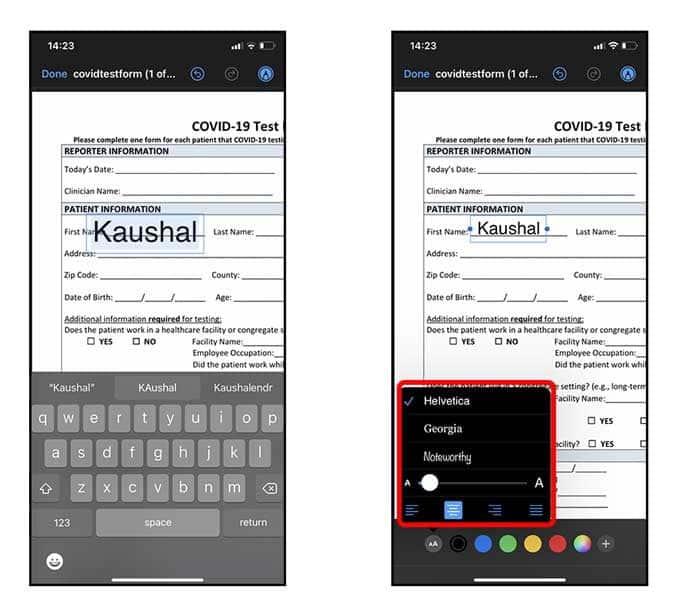 Comment annoter et signer des fichiers PDF sur iPhone - iOS