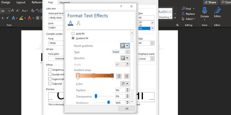أفضل الطرق لجعل النصوص أكثر أناقة في Microsoft Word - شروحات