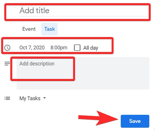 كيفية إضافة مهام إلى تقويم Google على جهاز iPhone و Android والكمبيوتر