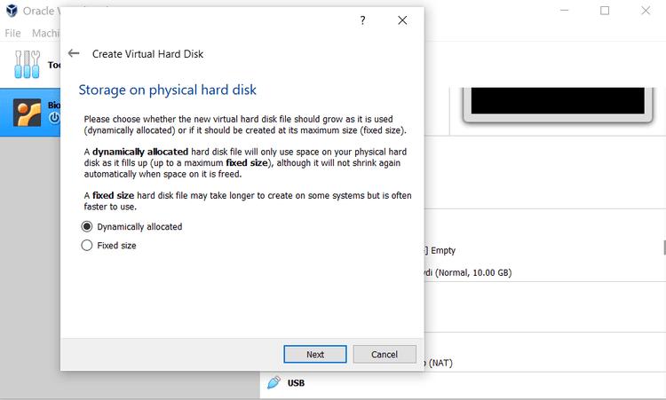 كيفية تثبيت توزيعة Ubuntu في VirtualBox