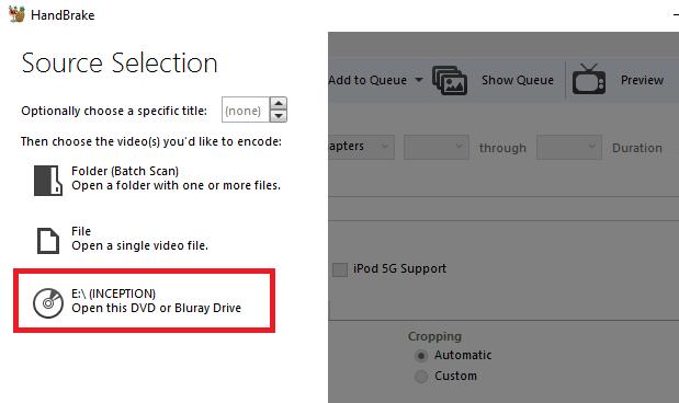 كيفية نسخ قرص DVD كامل إلى محرك الأقراص الثابتة - شروحات