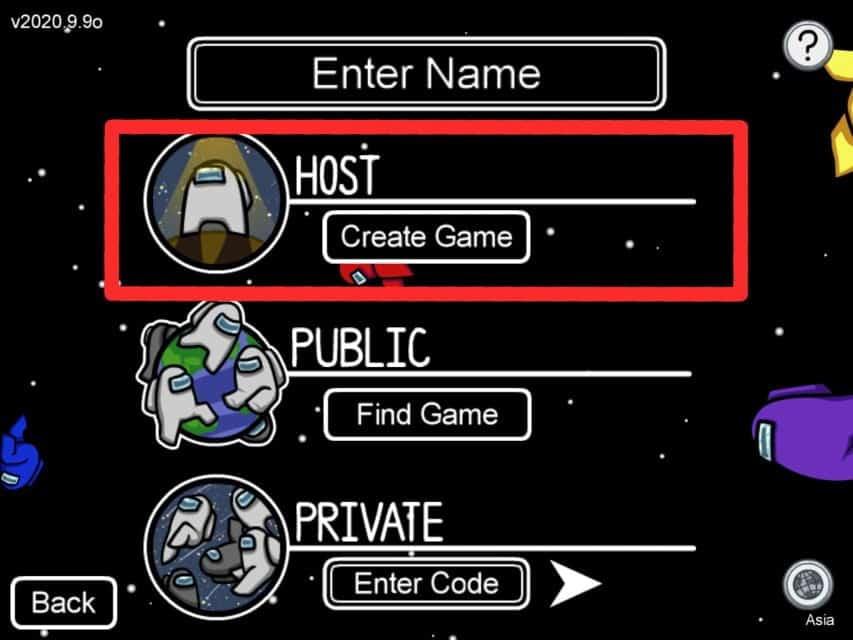 كيفية تغيير الإعدادات في لعبة Among Us