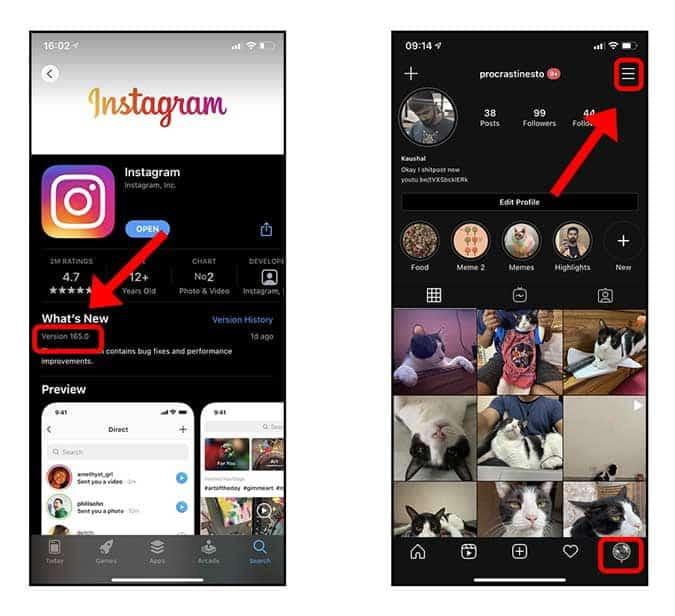 كيفية إزالة Facebook Messenger من Instagram بعد التحديثالجديد - Instagram