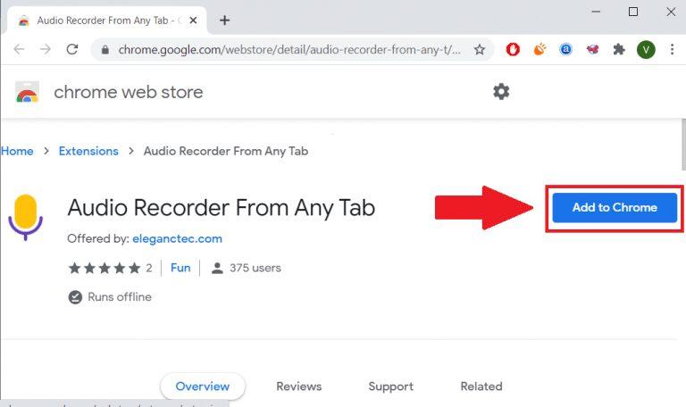 Comment capturer Chrome Audio sur PC et Mac - Instructions