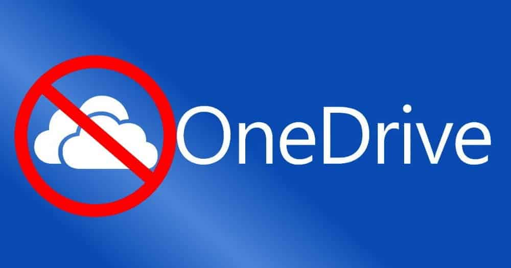 كيفية تعطيل Microsoft OneDrive بشكل صحيح فيWindows