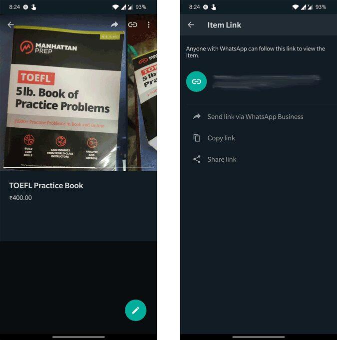 كيفية إضافة المنتجات إلى متجرWhatsApp