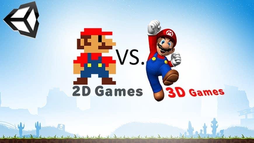 مقارنة بين الألعاب ثنائية وثلاثية الأبعاد: ما هي الاختلافات؟ - مقالات